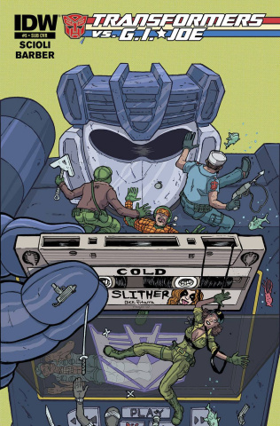 Transformers vs. G.I. Joe #5 (Subscription Cover)