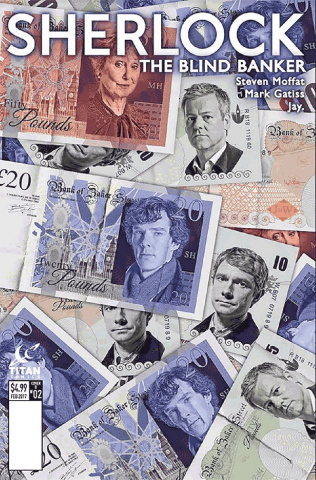 Sherlock: The Blind Banker #2 (Photo Cover)