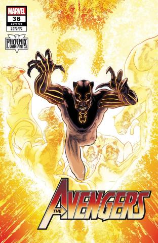 Avengers #38 (Kuder Black Panther Phoenix Cover)