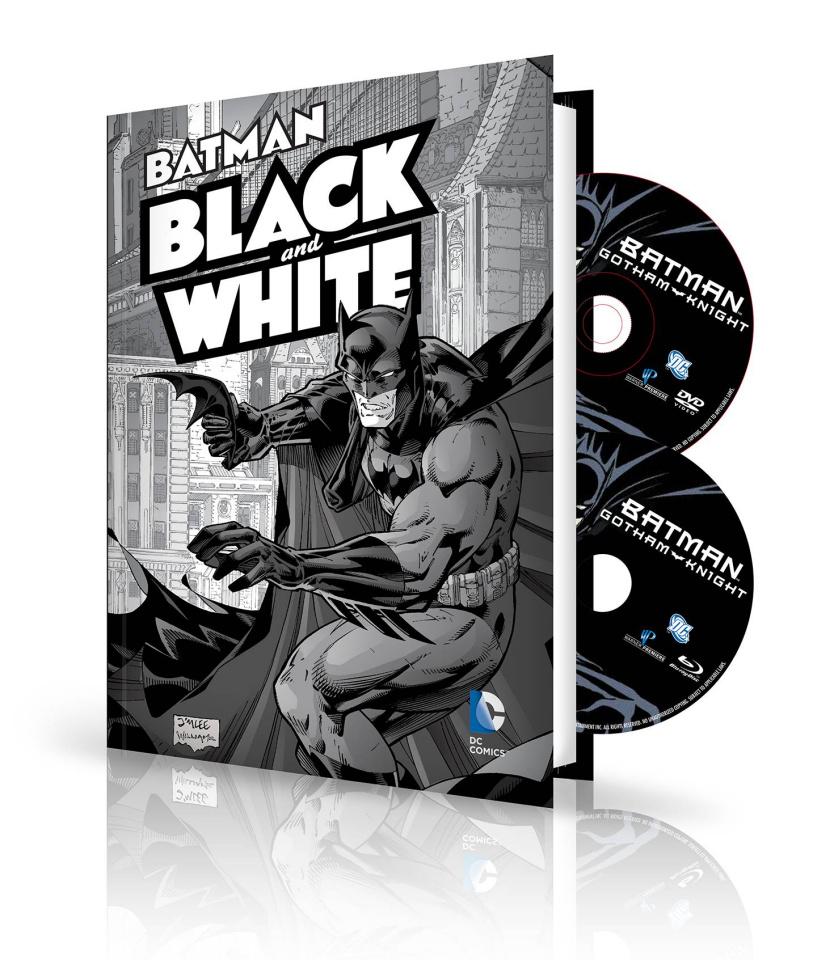 Batman: Black & White Vol. 1: Book & DVD/BluRay Set