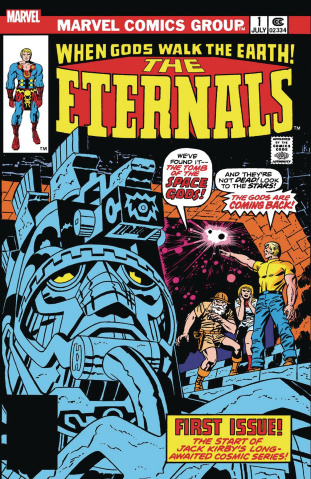 The Eternals #1 (Facsimile Edition)