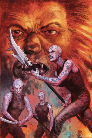 American Gods: The Moment of the Storm #5 (Fabry Cover)