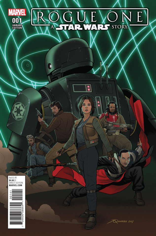 Star Wars: Rogue One #1 (Droids Cover)