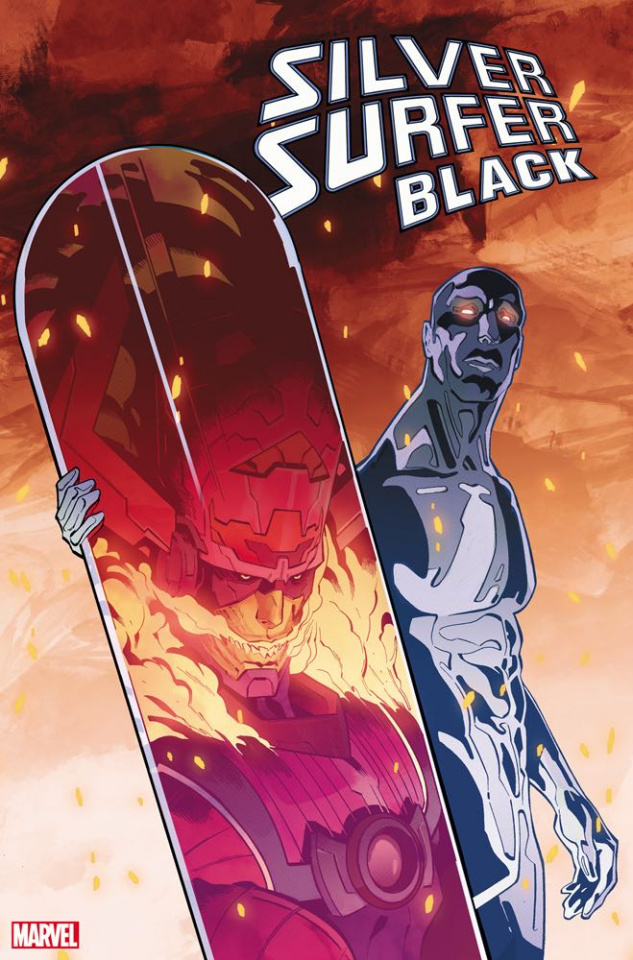 Silver Surfer: Black #5 (Tormey Foreshadow Cover)