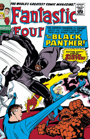 Black Panther #1 (Kirby Remastered Cover)