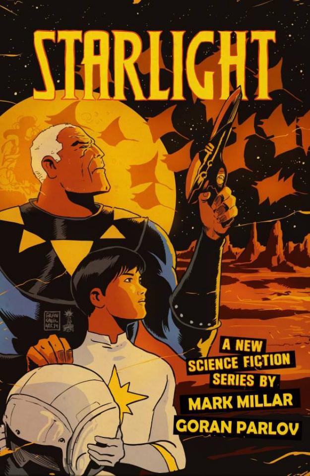 Starlight #3 (Francavilla Cover)