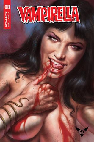 Vampirella #8 (Parrillo CGC Graded Cover)
