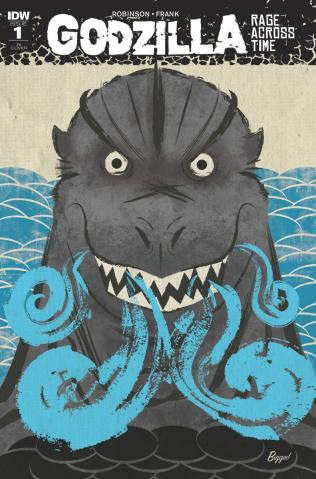 Godzilla: Rage Across Time #1 (10 Copy Cover)