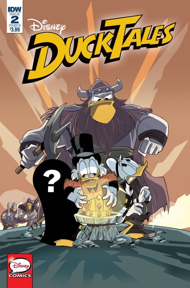 DuckTales #2 (Ghiglione Cover)