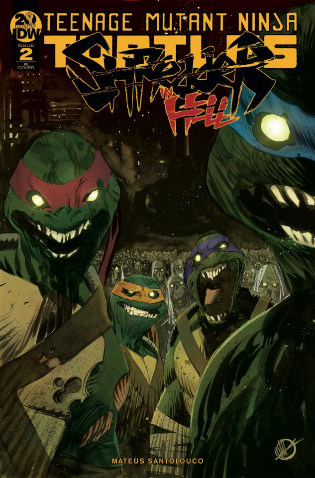 Teenage Mutant Ninja Turtles: Shredder in Hell #2 (10 Copy Scalera Cover)