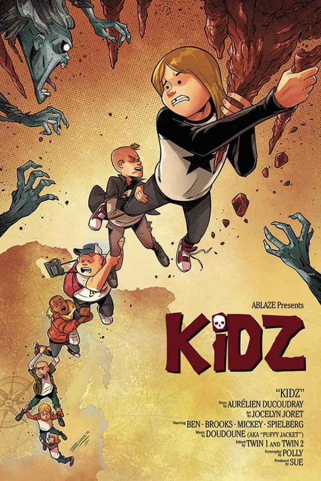 Kidz #1 (Cristobal Cover)