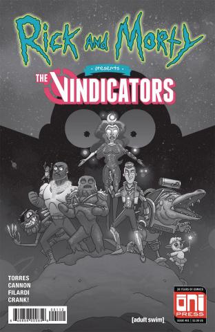 Rick and Morty Presents the Vindicators #1 (2nd Printing)