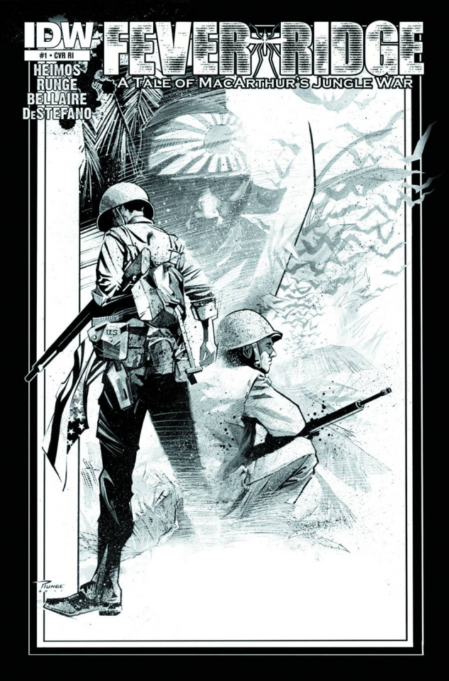 Fever Ridge: A Tale of MacArthur's Jungle War #2 (10 Copy Cover)