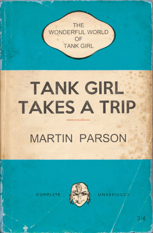 The Wonderful World of Tank Girl #4 (Bookshelf Cover)