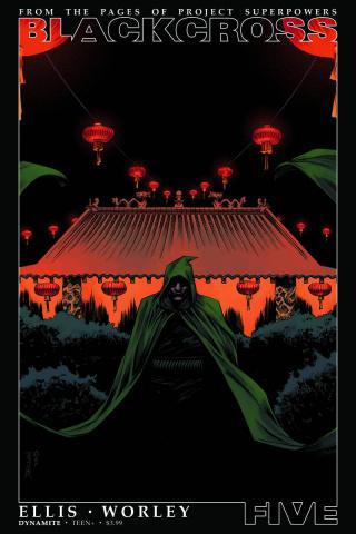 Blackcross #5 (Shalvey Cover)