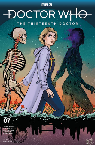 Doctor Who: The Thirteenth Doctor #7 (Anwar Cover)