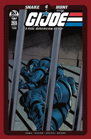 G.I. Joe: A Real American Hero #269 (Atkins Cover)