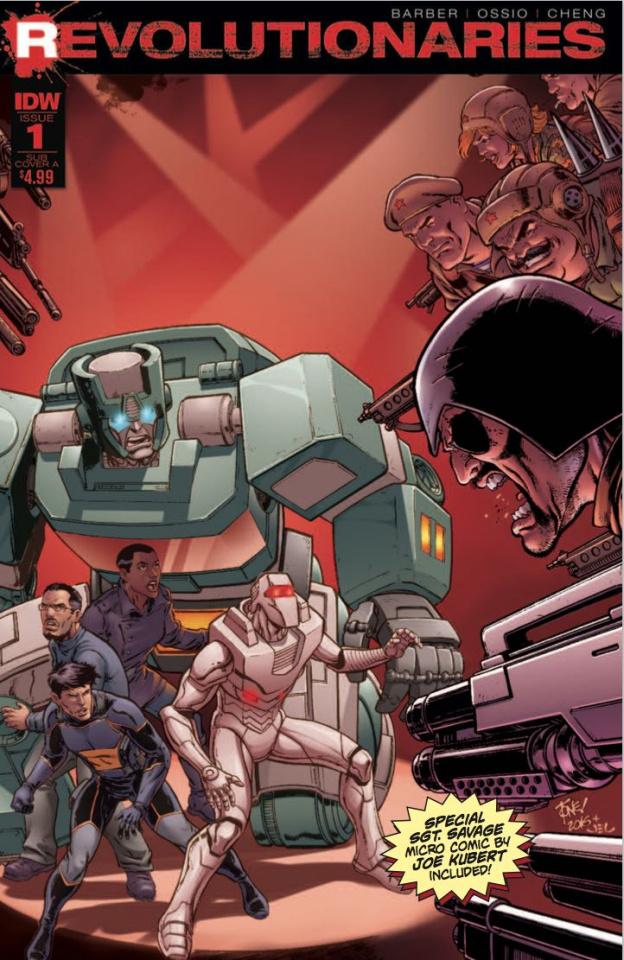 Revolutionaries #1 (Micro Comic Cover)