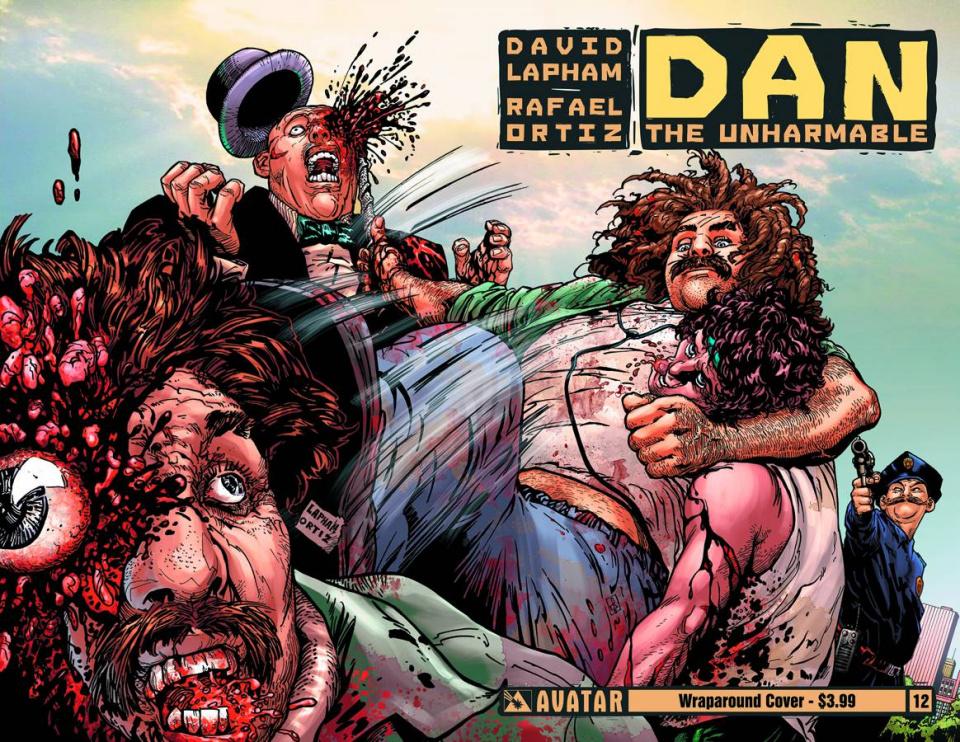 Dan the Unharmable #12 (Wrap Cover)
