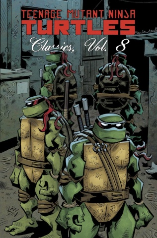 Teenage Mutant Ninja Turtles Classics Vol. 8