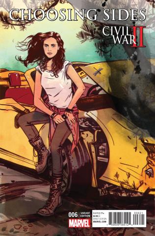 Civil War II: Choosing Sides #6 (Lotay Cover)