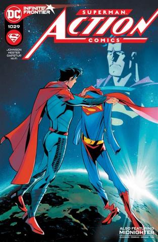 Action Comics #1029 (Phil Hester & Eric Gapstur Cover)