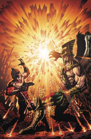 Death of Hawkman #4