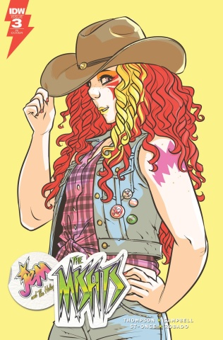 Jem and The Misfits #3 (10 Copy Cover)