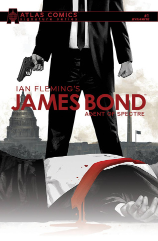 James Bond: Agent of SPECTRE #1 (Gage Signed Atlas Edition)