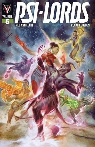 Psi-Lords #5 (Tedesco Cover)