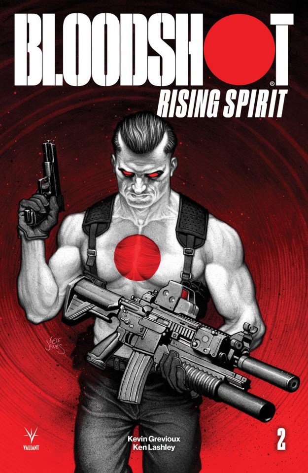 Bloodshot: Rising Spirit #2 (Jones Cover)
