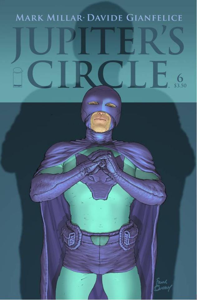 Jupiter's Circle #6 (Quitely Cover)