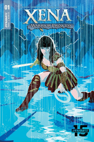 Xena: Warrior Princess #1 (Allen & Martin Cover)