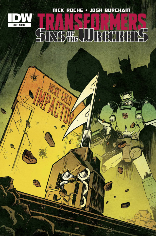 The Transformers: Sins of the Wreckers #3