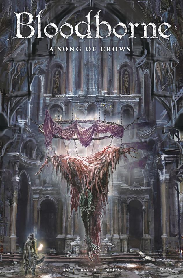 Bloodborne #11 (Game Art Cover)