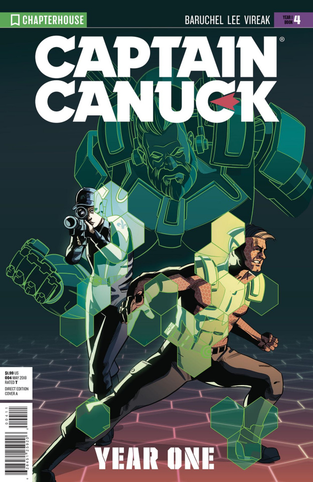 Captain Canuck, Year One #4 (Virgin Art Cover)