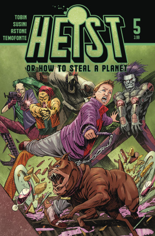 Heist or How to Steal a Planet #5