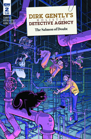 Dirk Gently's Holistic Detective Agency: The Salmon of Doubt #2