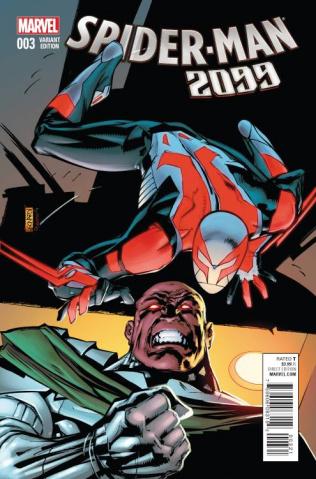Spider-Man 2099 #3 (Leonardi Cover)