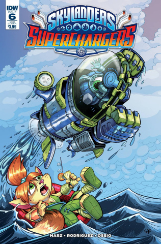 Skylanders: Superchargers #6 (Subscription Cover)