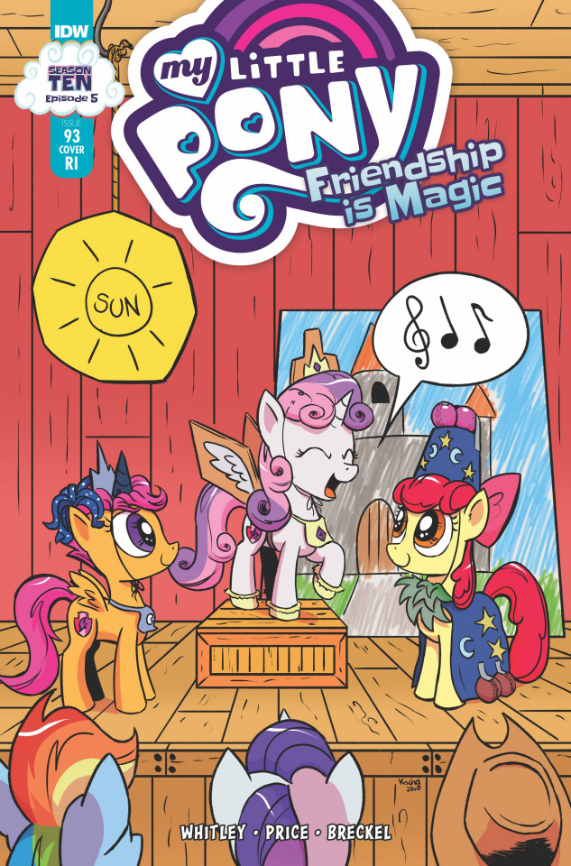 My Little Pony: Friendship Is Magic #93 (10 Copy Kachel Cover)