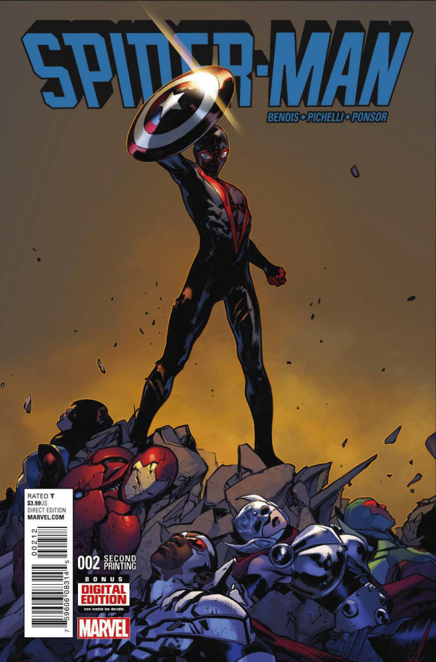Spider-Man #2 (Pichelli 2nd Printing)