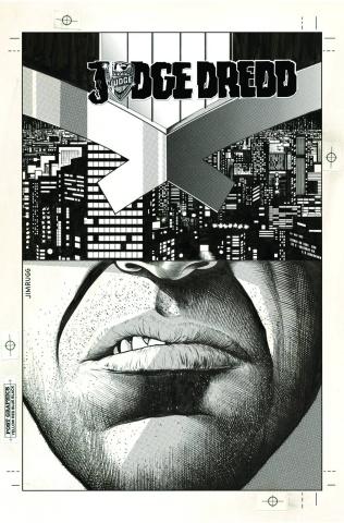 Judge Dredd #13 (Subscription Cover)