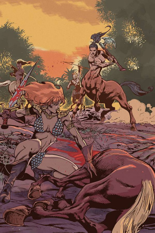 Red Sonja #18 (15 Copy Castro Virgin Cover)