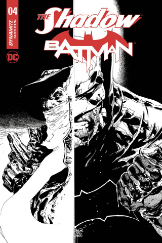 The Shadow / Batman #4 (10 Copy Tan Cover)