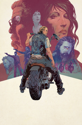 Sons of Anarchy #25 (25 Copy Sammelin Cover)