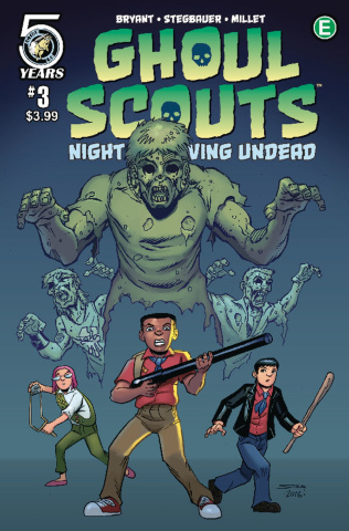 Ghoul Scouts: Night of the Unliving Undead #3 (Stegbauer Cover)