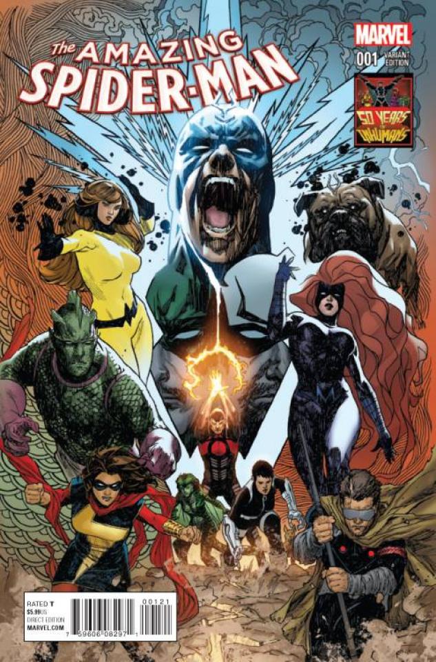 The Amazing Spider-Man #1 (Inhuman 50th Anniversary Cover)
