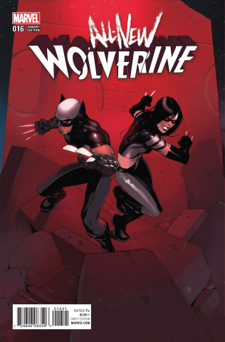 All-New Wolverine #16 (Bengal Connecting Cover)