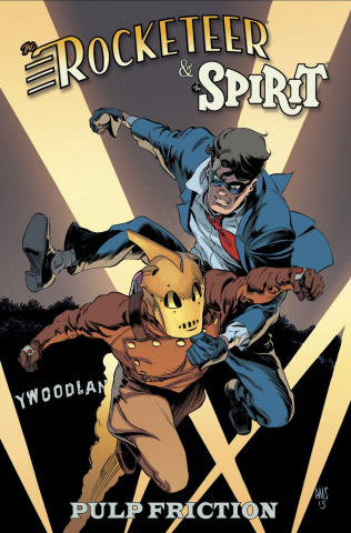 The Rocketeer/The Spirit: Pulp Friction